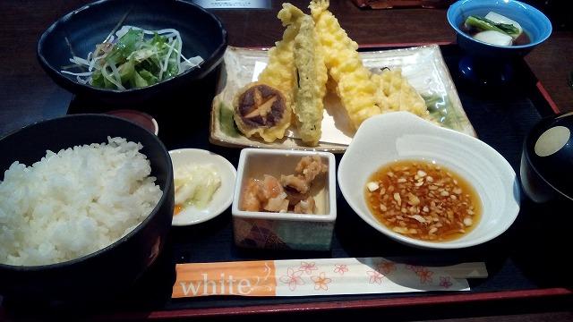 膳 天ぷら定食