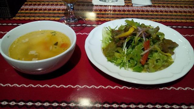 """サラダとスープ"""""""""""