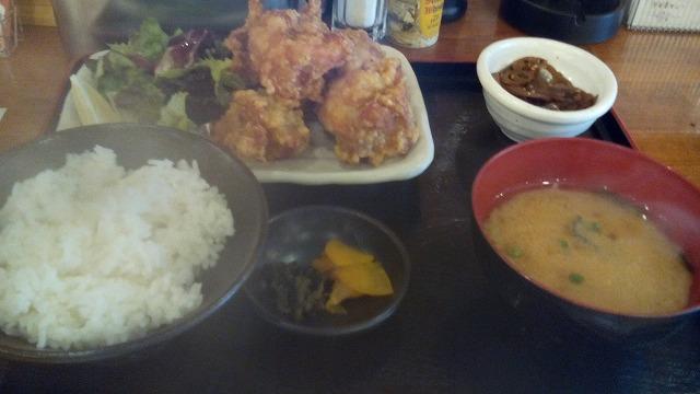 満マル唐揚げ定食