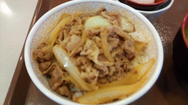 すき家牛丼