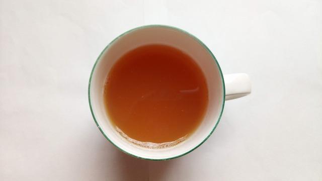 ほっとしょうが紅茶割り