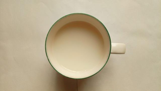ほっとしょうがミルク割り