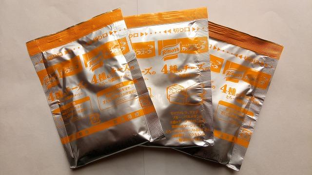 クノールカップスープ4種のチーズのとろーり濃厚ポタージュ袋