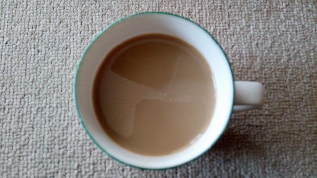ボス カフェベース 焦がしキャラメル 牛乳割り