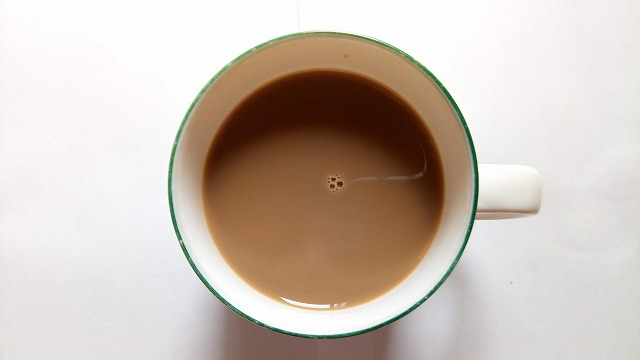 ワンダ 乳酸菌コーヒー ショコラ 牛乳割り
