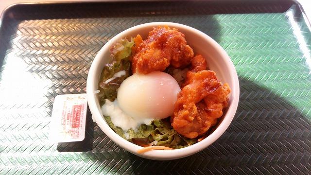 はなまるうどん 鶏の唐揚げ丼1