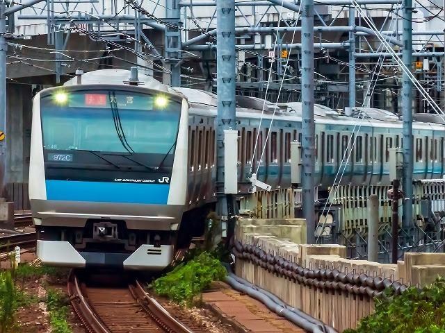 電車暑さ対策 (1)